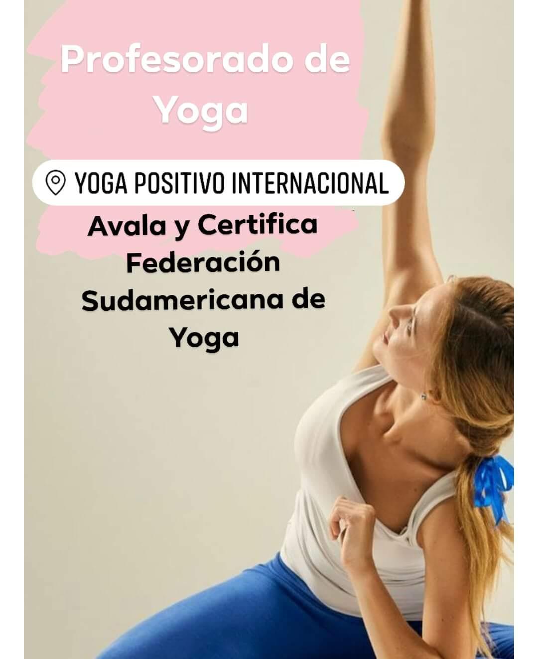 Profesorado de Yoga Online | Yoga Positivo Argentina